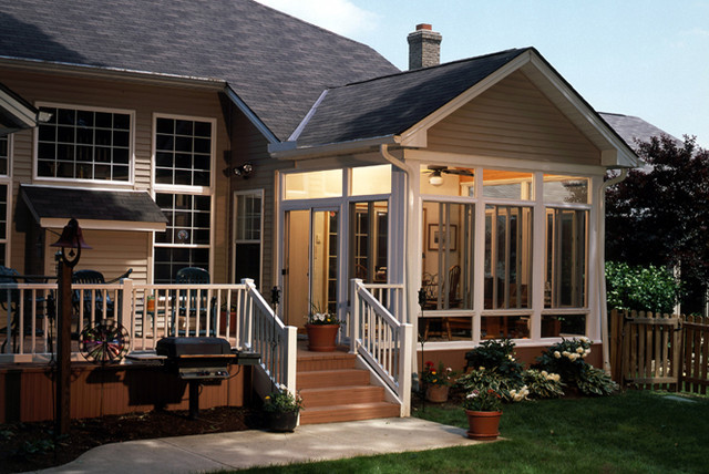 Sunroom Examples Contemporary Porch Orange County