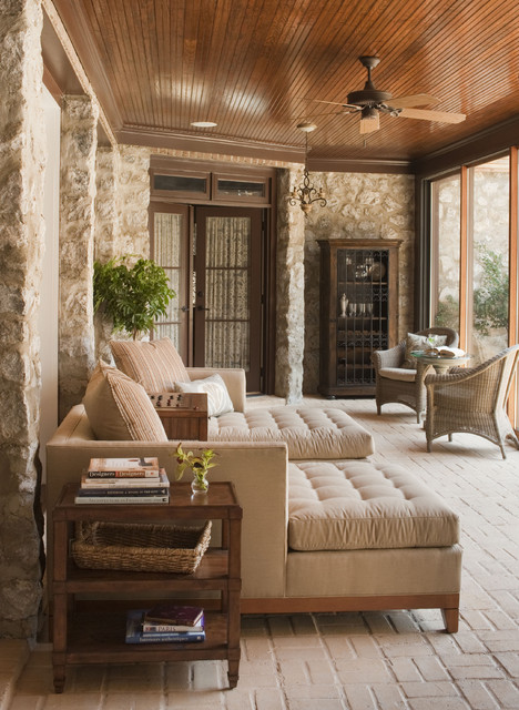 Sunroom contemporary porch