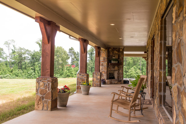 texas ranch house porch