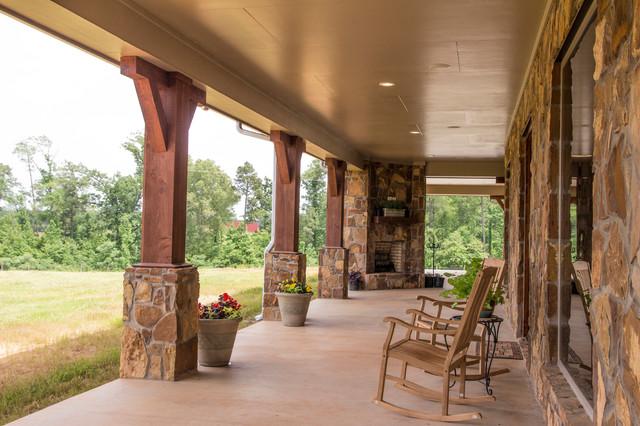Texas Ranch House Porch