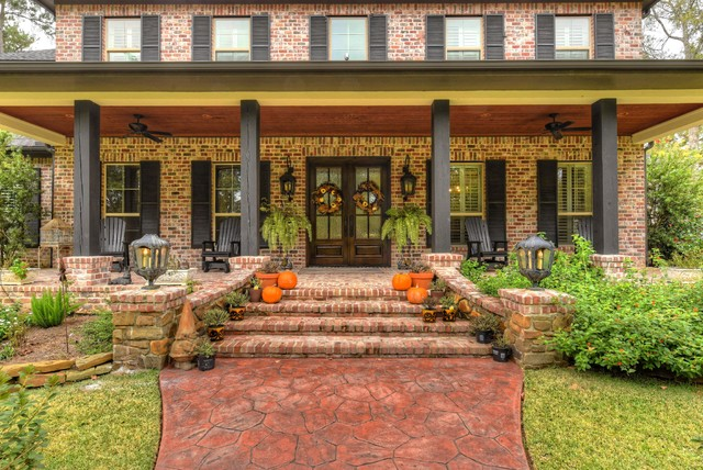Eclectic Porch Houston The Adeline eclectic-porch