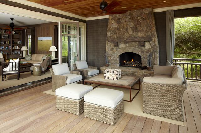 The Beach House beach-style-porch