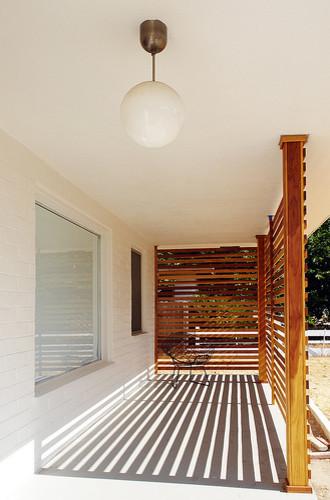 The Brick House modern-porch
