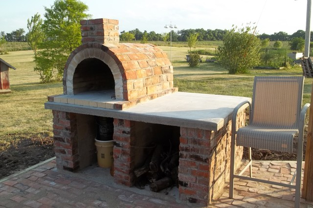 The Dearborn Family Wood Fired Brick Pizza Oven in Iowa by ...