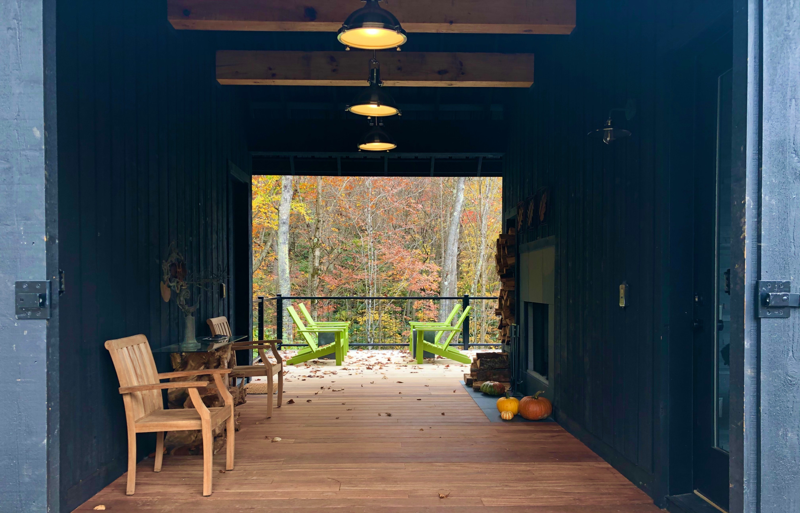 The dogtrot in late October 2020.