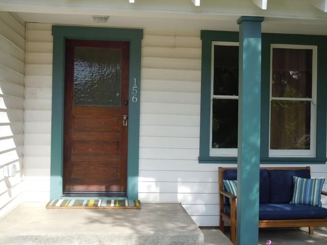 The Empress of 7th Street porch design and color contemporary-porch