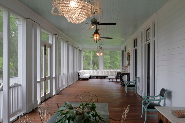 The Ford Plantation Farmhouse Porch Atlanta By J T