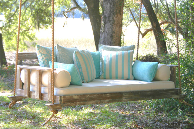 The noah farmhouse porch charleston by vintage for Farmhouse porch swing