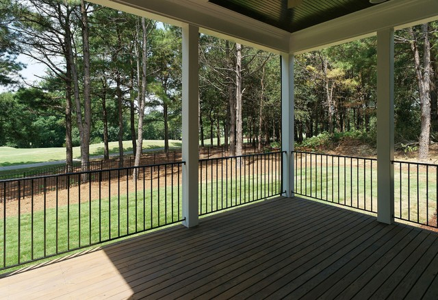 The Oakmont Hill built by Homes By Dickerson at Carrie's Reach & Heritage traditional-porch