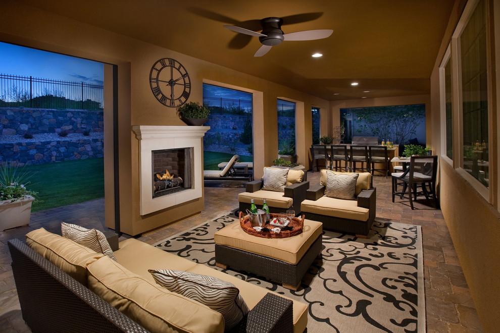 Tuscan porch idea in Denver