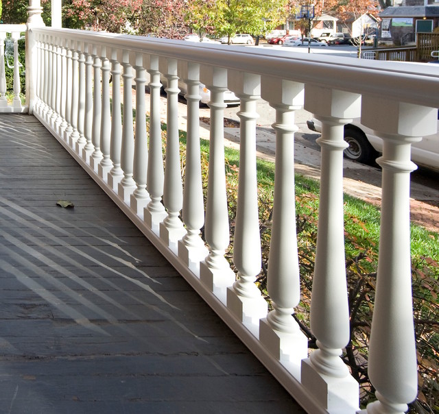 The Perfect Railing For A Victorian Porch Traditional
