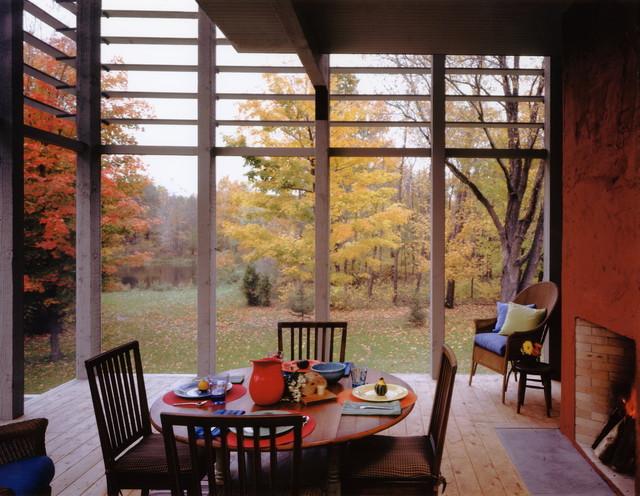 Three Oaks Retreat contemporary-porch