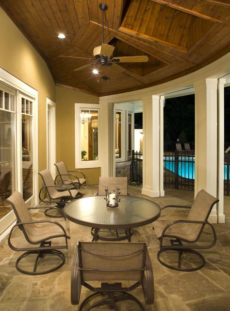 Three Season Porch beach-style-porch