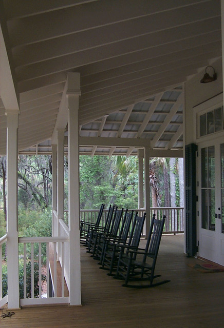tideland haven - beach style - porch - atlanta -our town plans