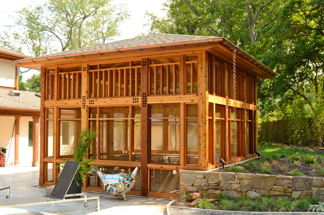 Quotes by hugh lofting like success for Timber frame screened porch