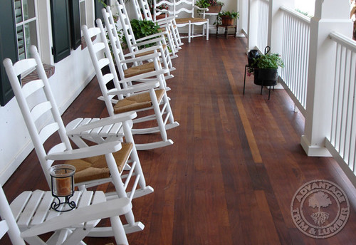 Best material for a covered porch flooring for Covered porch flooring options