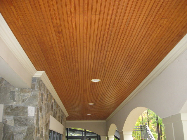 Attrayant This Is An Example Of A Contemporary Porch Design In Other.