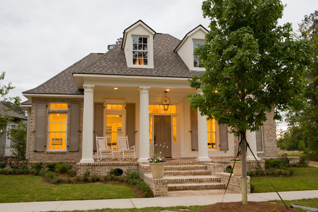 Traditional front porch traditional exterior new for New orleans style homes