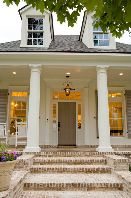 Traditional Front Porch traditional exterior