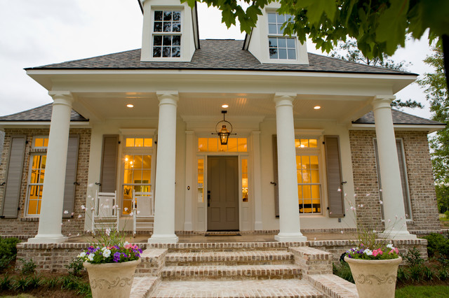 Traditional Front Porch Traditional Exterior New Orleans By Highland