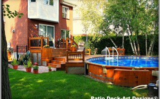 Patio Amp Decks Traditional Porch Montreal By Patio