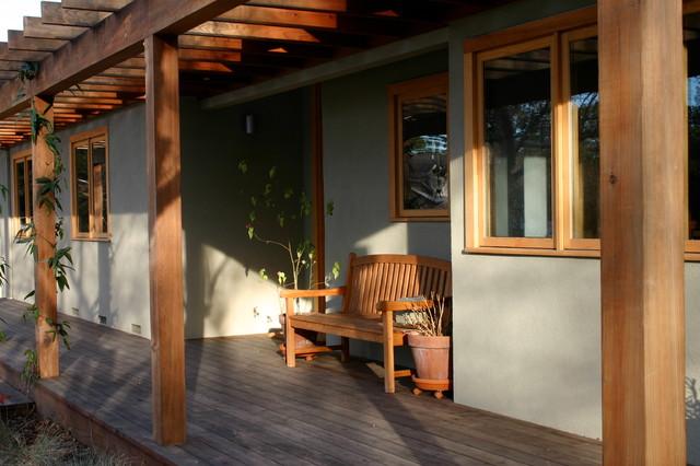 Trellis House contemporary-porch