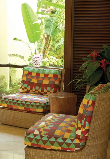 Mauna Lani Bay tropical-porch
