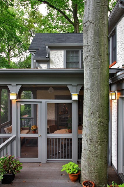 Tudor Style Addition In Chevy Chase