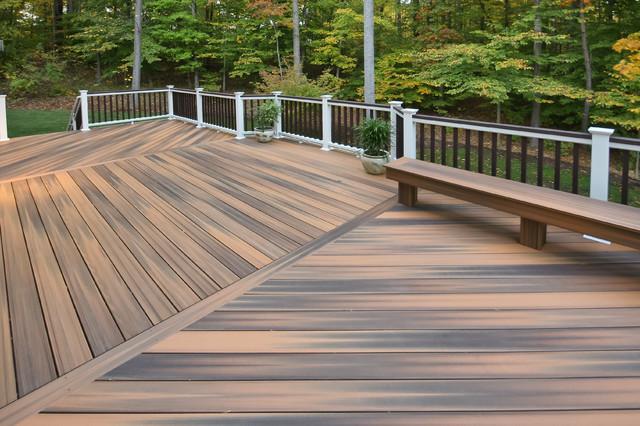 Upper Marlboro Fiberon Deck Traditional Porch Dc