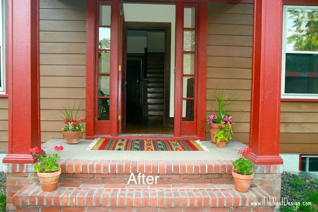 Vacant Home Staging traditional-porch