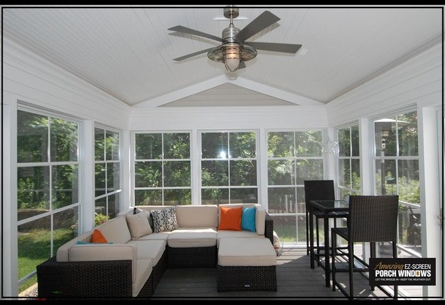 Vadnais Heights Contemporary Porch Minneapolis By