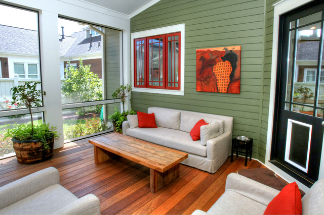 Vance Love Residence contemporary-porch