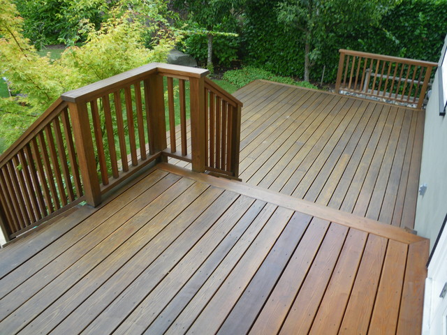 traditional porch by careful painting ltd - Behr Semi Transparent Stain Colors
