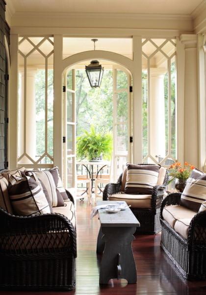 Elegant porch photo in Atlanta