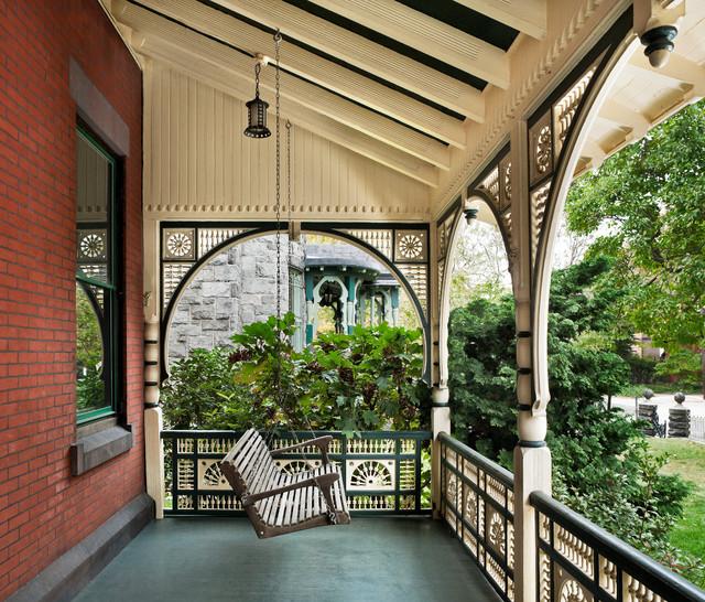 55 Front Verandah Ideas And Improvement Designs: Victorian Heirloom Victorian-porch