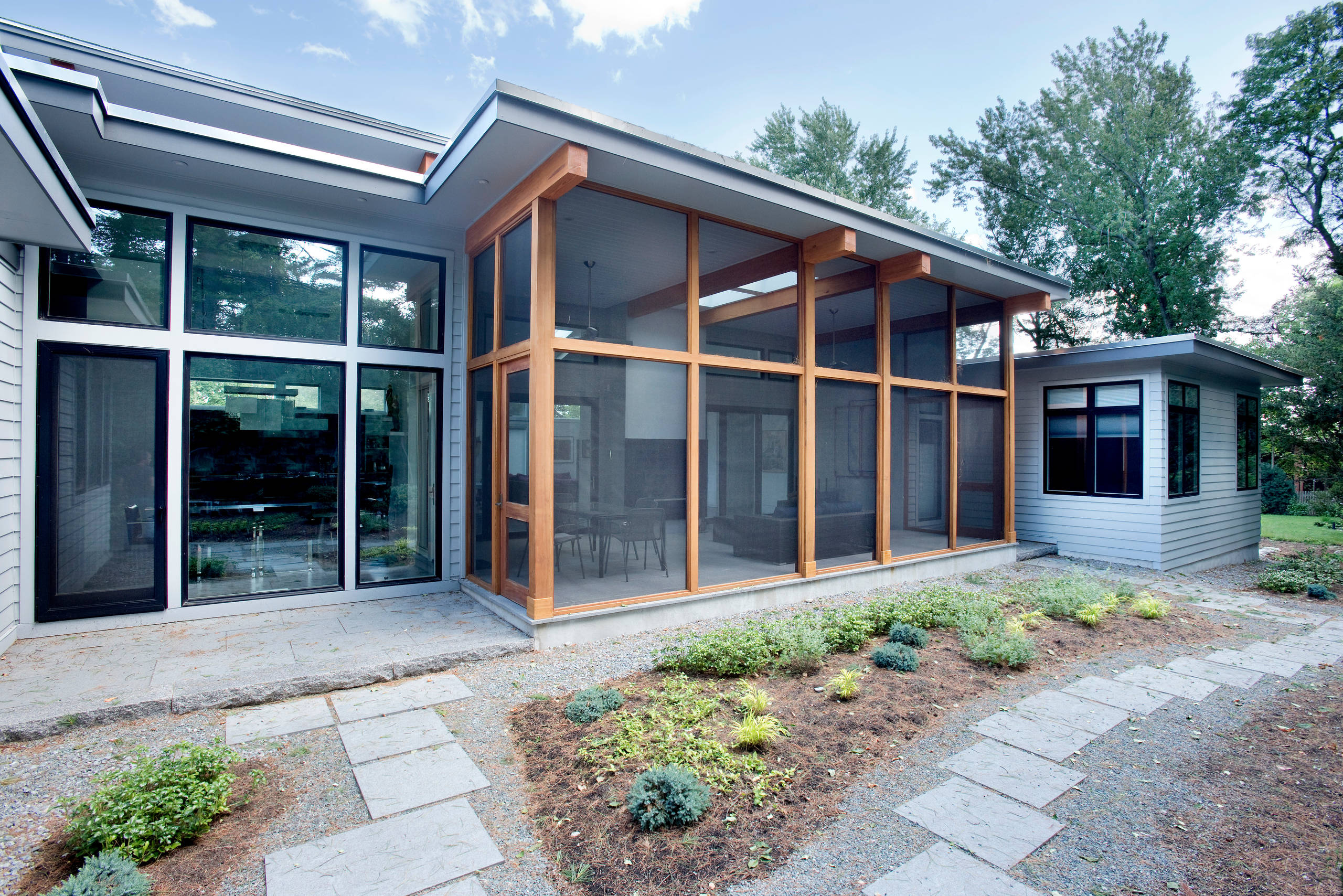 75 Beautiful Modern Screened In Porch Pictures Ideas August 2021 Houzz