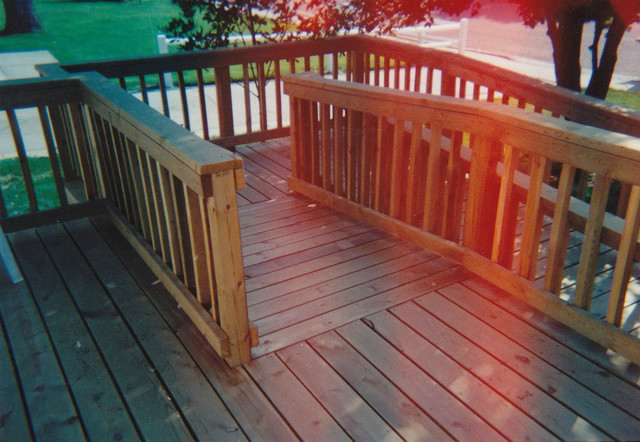 Walk Amp Wheel Chair Accessible Ramp Traditional Porch