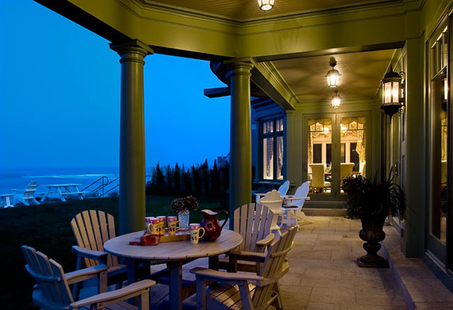 Waterfront Home with Atlantic Ocean Views traditional-porch
