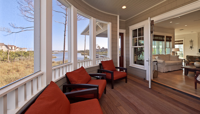 Watersound House, Seagrove, Florida traditional-porch