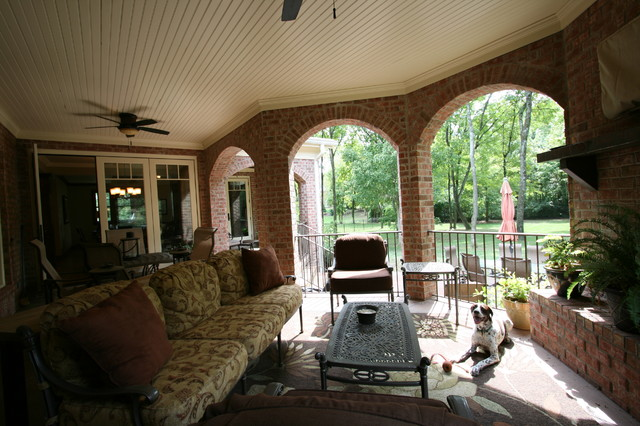 Watson Residence traditional-porch
