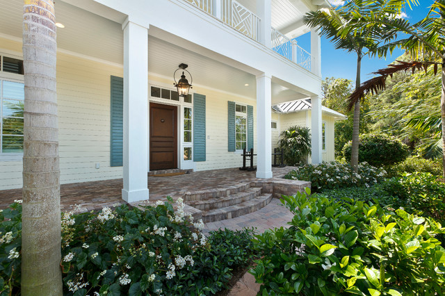 West indies house design tropical porch miami by for Weber designs