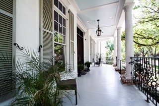 West University New Orleans traditional-porch