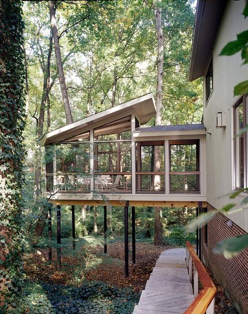 gartenhaus auf stelzen bauen ideen fuers stelzenfundament