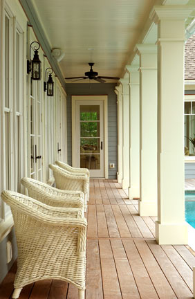 Wild Dunes Residence traditional-porch