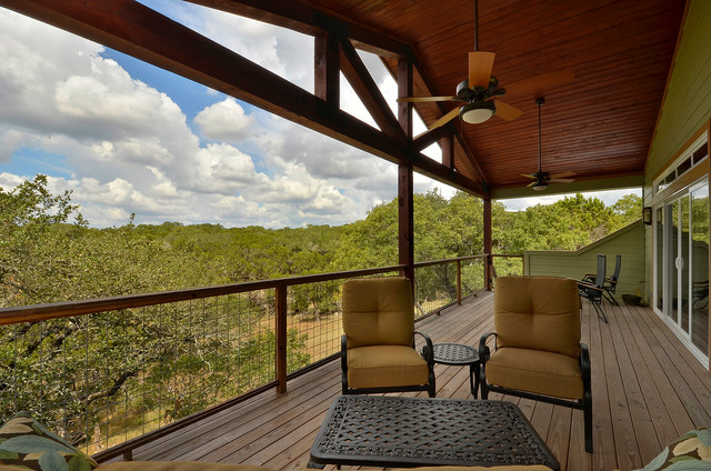 Wimberley Custom Home Addition traditional-porch