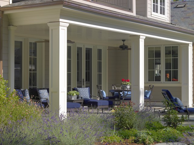 Winding Way Residence traditional-porch