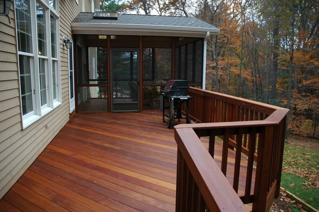 Houzz screened porch floors joy studio design gallery for Traditional porch
