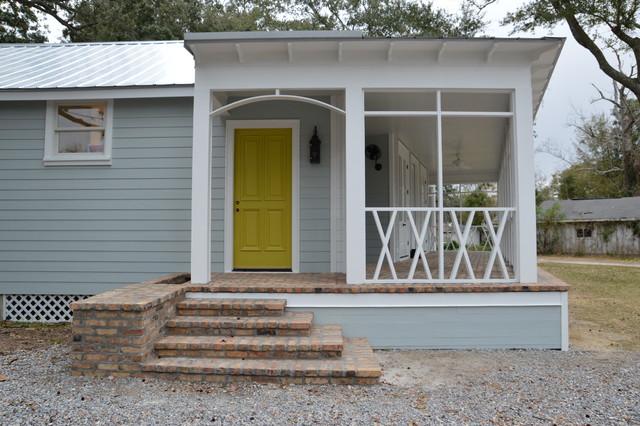 Wisteria Cottage contemporary-porch