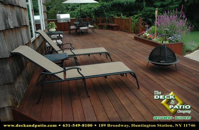 Wood and Composite Decks,Trex, Timbertech, Azek Deck traditional-porch