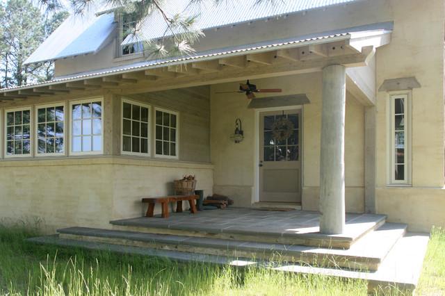 Worker's Cottage farmhouse-porch